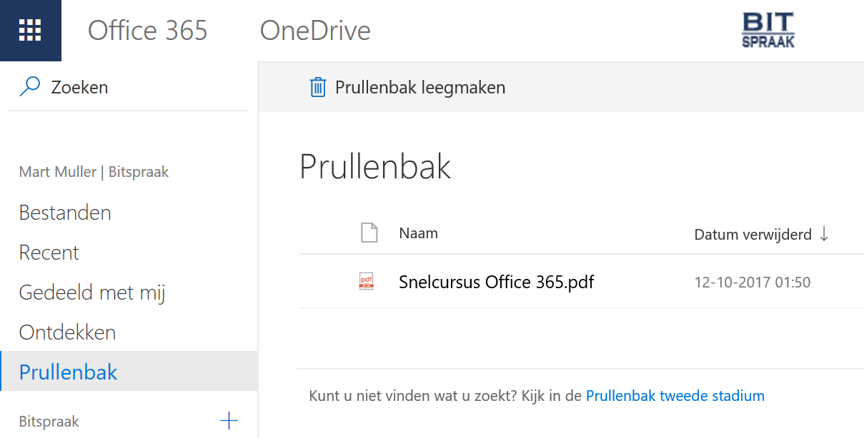 onedrive_backup_recyclebin